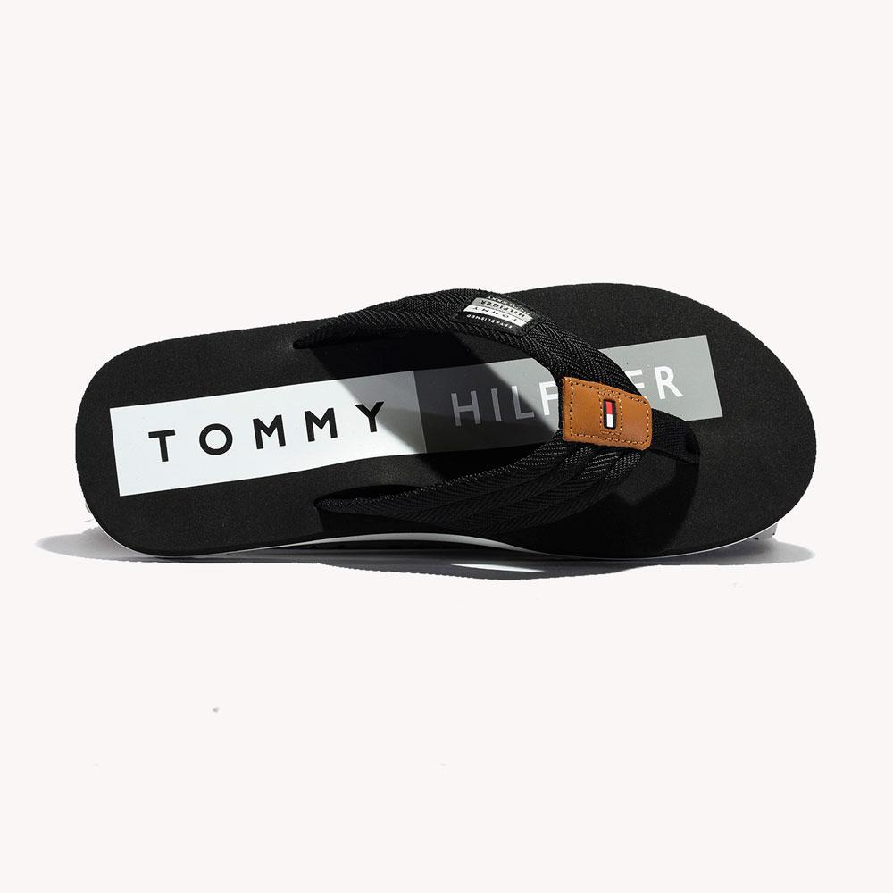 Chanclas   Tommy Hilfiger® TH Patch Flip Flop Black