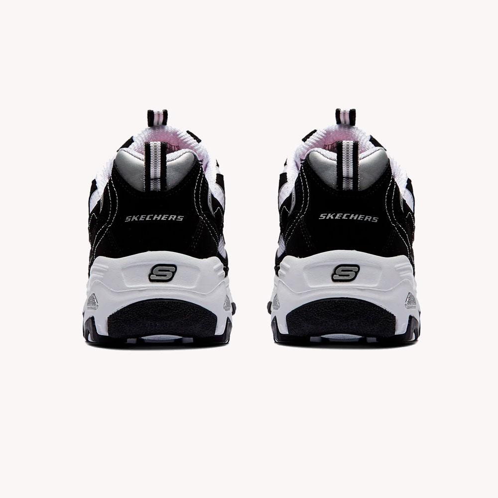 Tenis   Skechers D'lites Biggest Fan Black/White