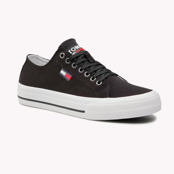 Tenis | Tommy Hilfiger Long Lace Up Negros