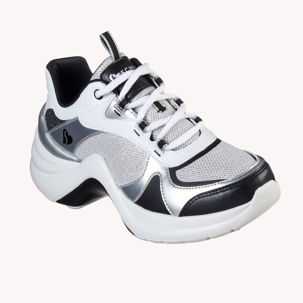 Tenis   Skechers Solei St-Groovilicious White/Black