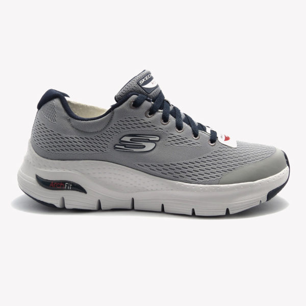 Tenis | Skechers Arch Fit Gray/Navy