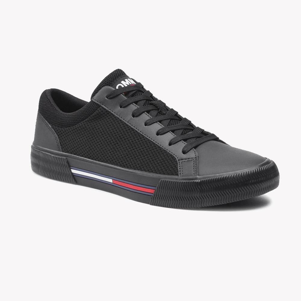 Tenis | Tommy Jeans Core Mix Vulc Tjm Negro