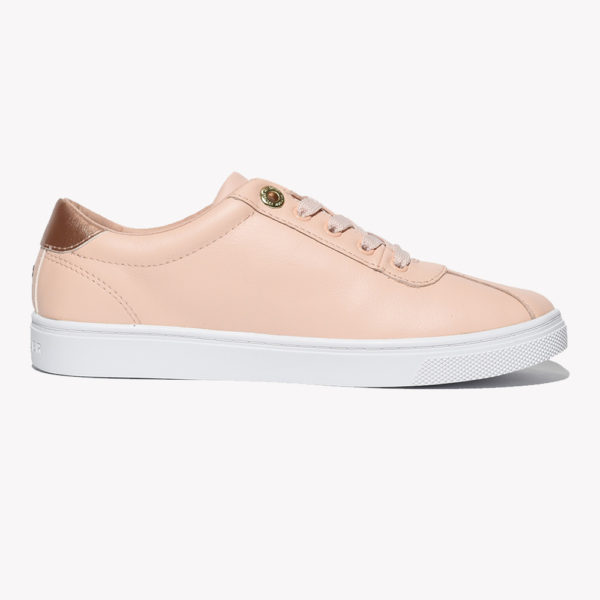 Tenis | Tommy Court Leather Dusty Rose