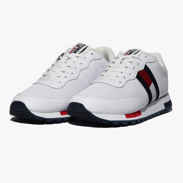 Tenis | Tommy Jeans Leather Runner Retro White