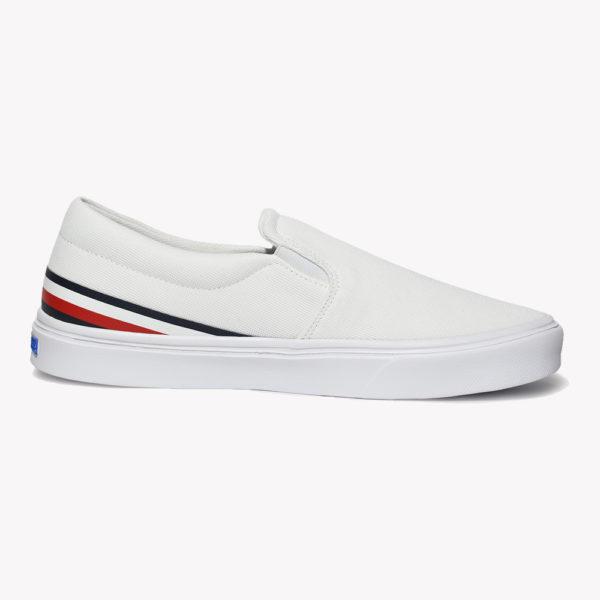 Tenis | Tommy Lightweight Stripes Slip White