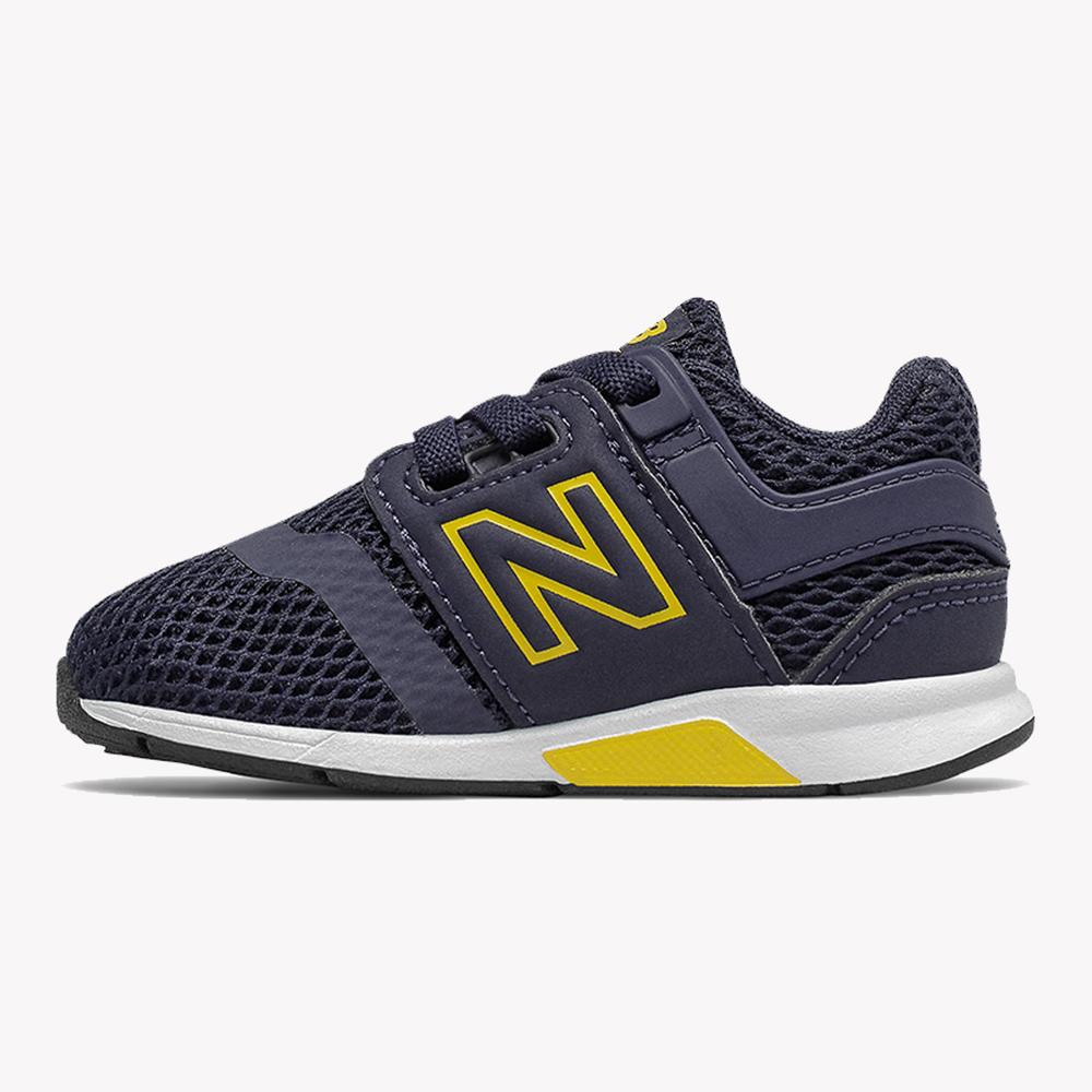 Tenis | New Balance 247 Kid Azul/Amarillo